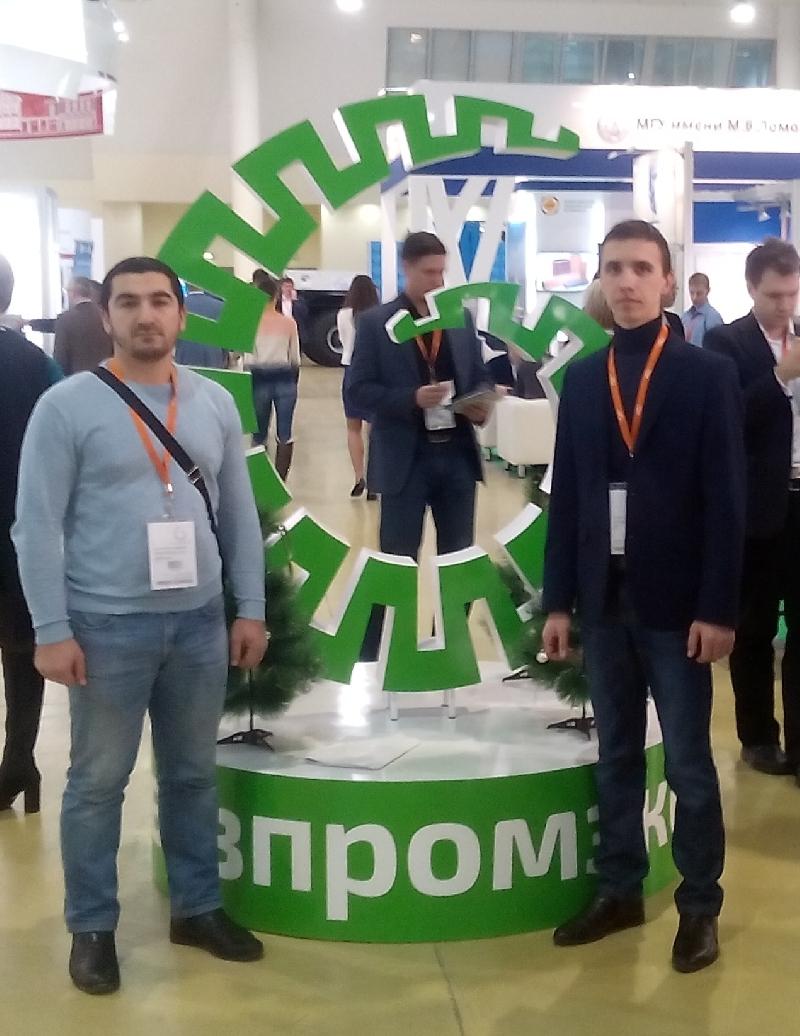 Молодые ученые ПГУ посетили выставку ВУЗПРОМЭКСПО-2016