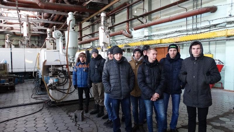 Студенты кафедры «Технология машиностроения» посетили Саранский механический завод