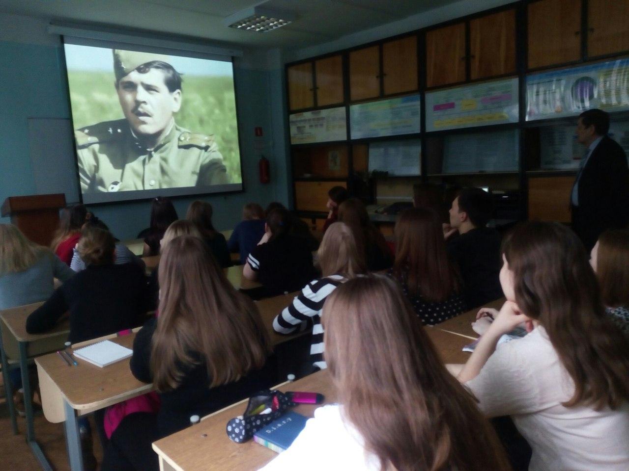 На ФВТ прошел объединенный кураторский час, посвященный 72-й годовщине Победы в Великой Отечественной войне