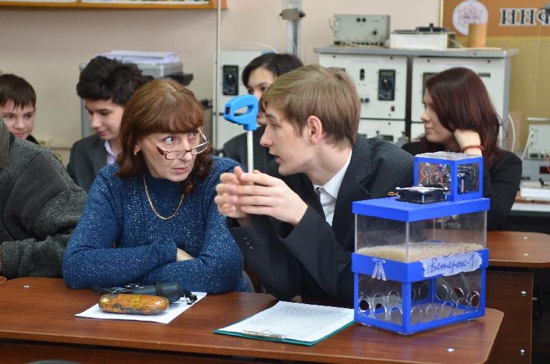 В ПГУ состоялся очный тур областной научно-практической конференции учащихся «Эврика»