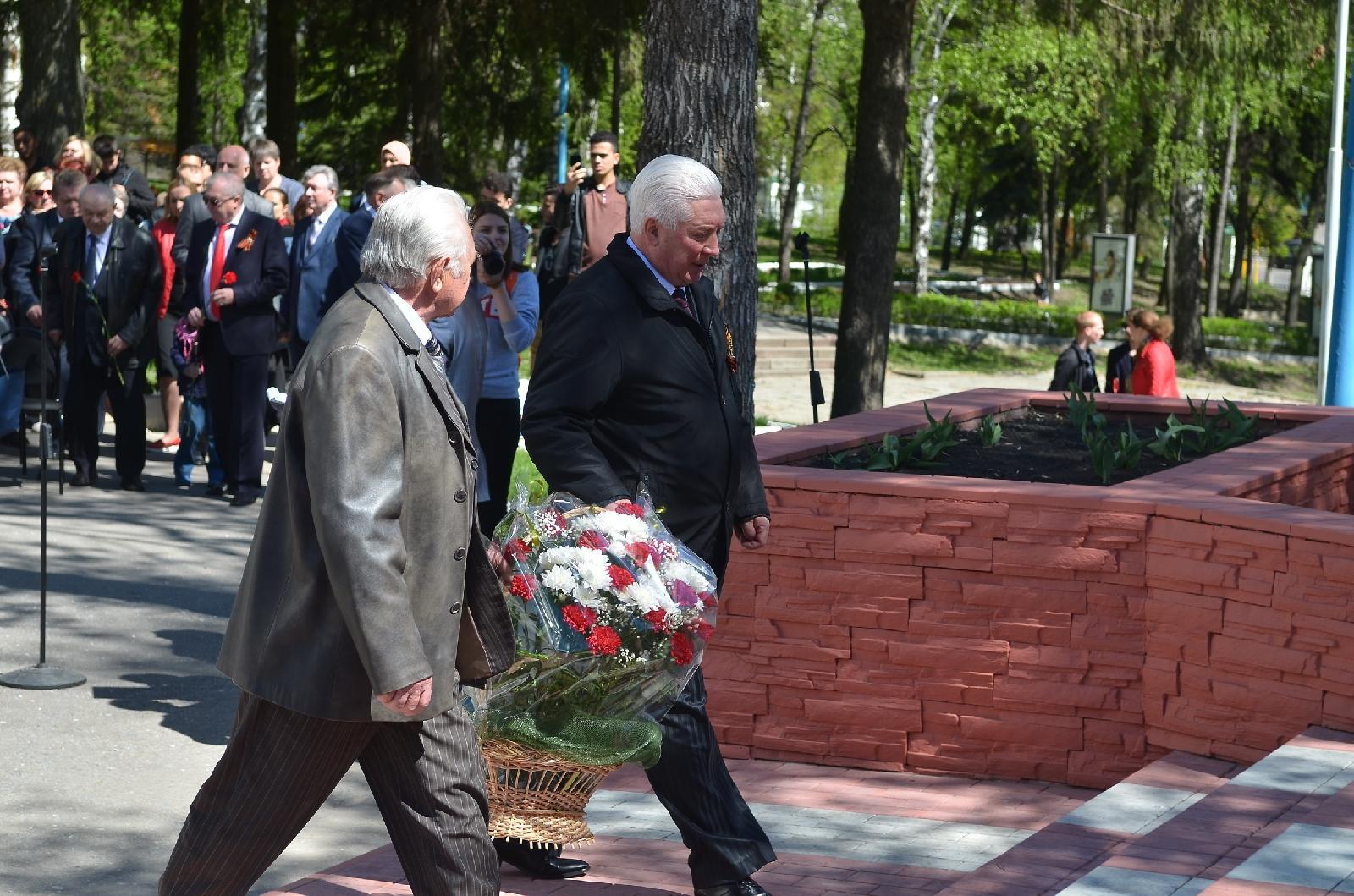 В ПГУ состоялись торжественные мероприятия, посвященные 72-й годовщине Великой Победы